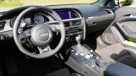 Audi S5 Cabriolet Innenraum, Foto: Autogefühl