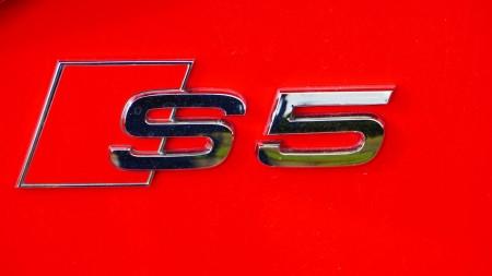 Audi S5 Cabriolet badge, Foto: Autogefühl
