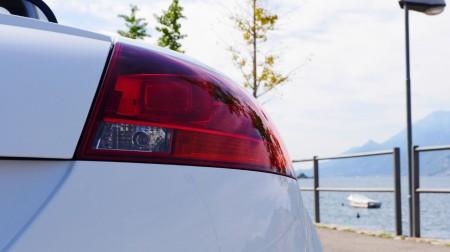 Audi TTS Roadster Rückleuchten, Foto: Autogefühl