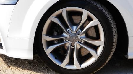 Audi TTS Roadster Felgen, Foto: Autogefühl