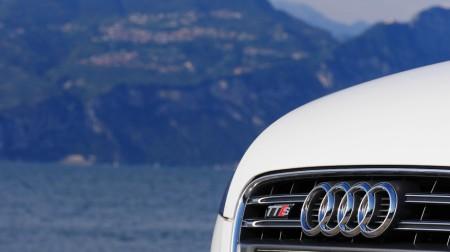 Audi TTS Roadster Badge, Foto: Autogefühl