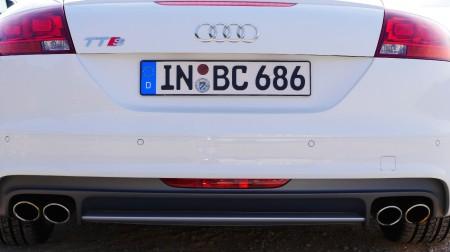 Audi TTS Roadster hinten, Foto: Autogefühl