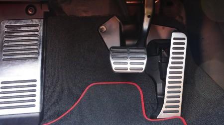 Audi TTS Roadster Alu-Pedalerie, Foto: Autogefühl