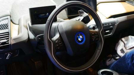 BMW i3 Innenraum auf IAA 2013 in Frankfurt, Foto: Autogefühl