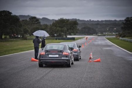 Bridgestone Reifentest, Foto: Bridgestone