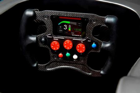 Formula E Einheitsauto Lenkrad, Foto: Formula E
