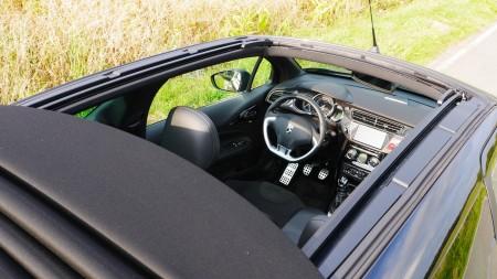 Citoren DS3 Cabriolet Innenraum, Foto: Autogefuehl