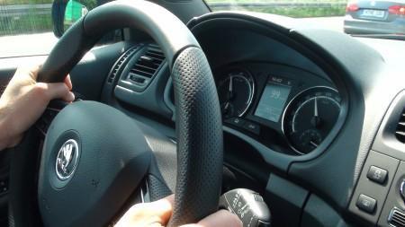 Skoda Fabia RS Lenkrad, Foto: Autogefühl