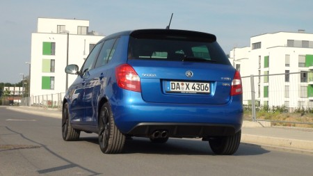 Skoda Fabia RS, hinten, Foto: Autogefühl