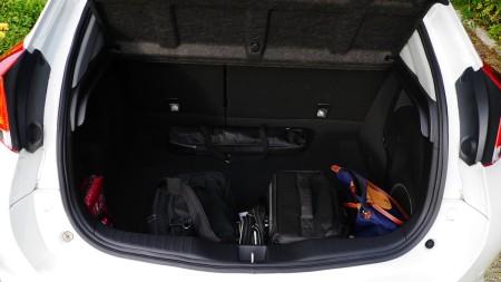Honda Civic: zweckmäßiger Kofferraum, Foto: Autogefuehl
