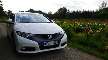 Honda Civic front, Foto: Autogefuehl