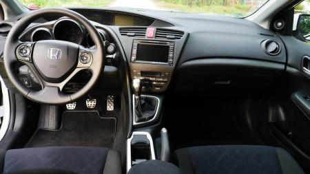 Honda Civic Cockpit, Foto: Autogefühl