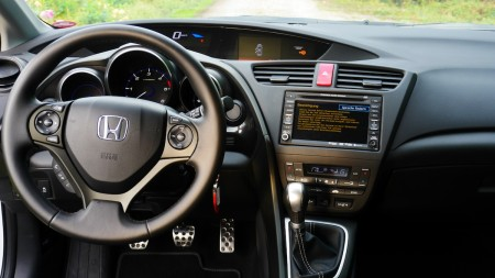 Honda Civic Cockpit, Foto: Autogefühl