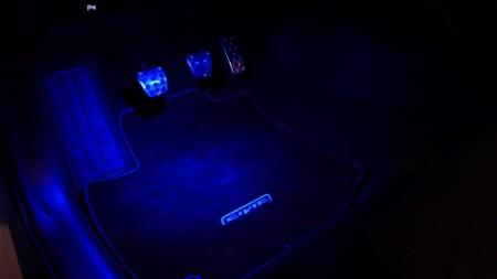 Honda Civic Ambient-Light, Foto: Autogefühl