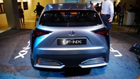 Lexus LF-NX SUV Concept auf der IAA 2013, Foto: Autogefühl
