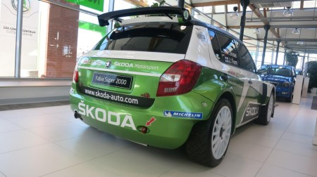 Skoda Fabia Super 2000 Rallye-Car, Foto: Jens Stratmann