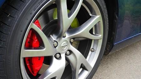 Nissan 370Z Roadster Felgen, Foto: Autogefühl