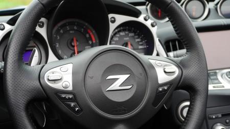 Nissan 370Z Roadster Lenkrad, Foto: Autogefühl