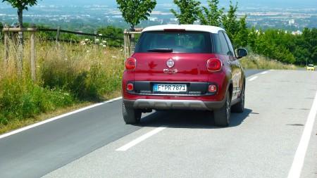 Fiat 500L Trekking hinten, Foto: Autogefühl