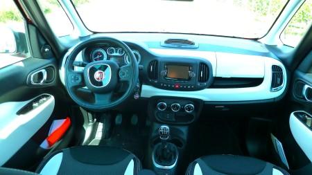 Fiat 500L Trekking Interieur, Foto: Autogefühl