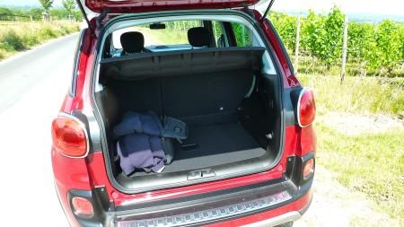 Fiat 500L Trekking Laderaum, Foto: Autogefühl