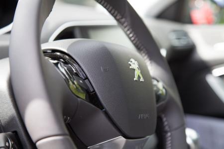 Der Peugeot 308 Lenkrad, Foto: Autogefühl