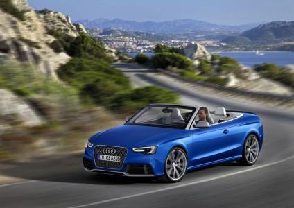 Das Audi RS 5 Cabriolet hat Allrad serienmäßig. Foto: Audi