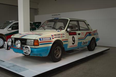 Skoda Rallye Historie, Foto: Jan Gleitsmann