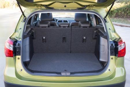 Suzuki SX4 S-Cross variabler Kofferraum, Foto: Suzuki