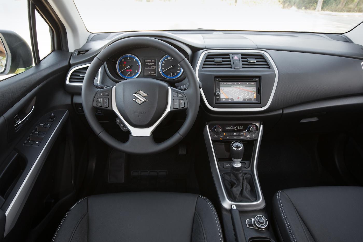Suzuki Sx Crossover Interior