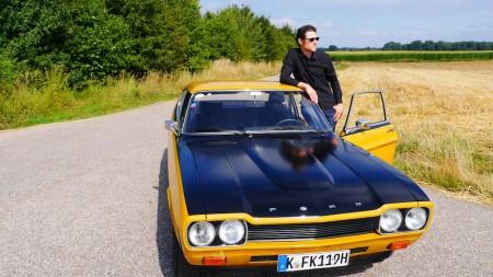 Thomas mit dem Ford Capri RS 2600, Foto: Autogefühl