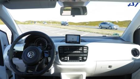 VW e-up! Innenraum, Foto: Autogefühl