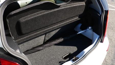 VW e-up! Kofferraum, Foto: Autogefühl