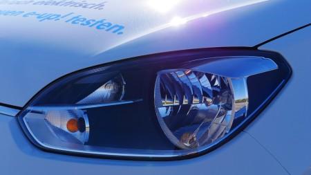 VW e-up! Scheinwerfer, Foto: Autogefühl