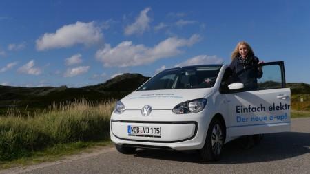 Katharina von Autogefühl mit dem VW e-up!