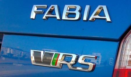 Skoda Fabia RS badge, Foto: Autogefühl