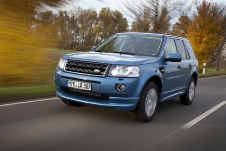 Der Land Rover Freelander hat die Allradversion vorne+hinten. Foto: Land Rover