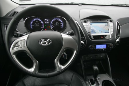 Hyundai ix35 Fuel Cell Electric Vehicle (FCEV) Innenraum, Foto: Hyundai