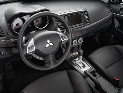 Mitsubishi Lancer Sportback Innenraum, Front, Foto: Mitsubishi