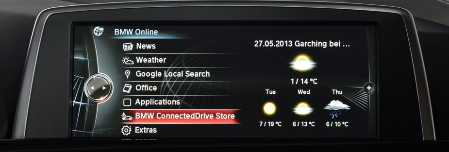 BMW ConnctedDrive, Foto: BMW