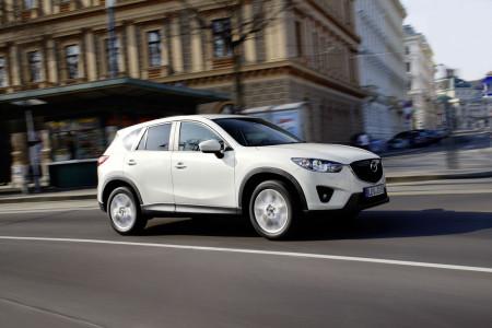 Mazda CX-5 in weiß, Foto: Mazda