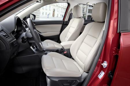Mazda CX-5 mit heller Lederausstattung, Foto: Mazda