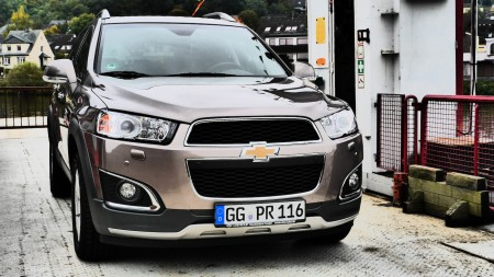 Chevrolet Captiva, Foto: Autogefühl