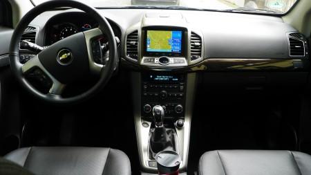 Chevrolet Captiva Innenraum, Foto: Autogefühl