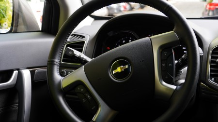 Chevrolet Captiva Lenkrad Maxi-Size, Foto: Autogefühl