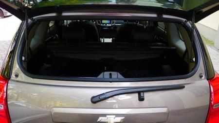 Chevrolet Captiva: Heckscheibe separat zu öffnen, Foto: Autogefühl