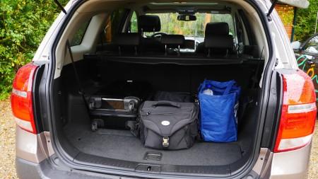 Chevrolet Captiva Kofferraum, Foto: Autogefühl