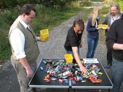 Die Matchbox-Prüfung bei der Creme21 Rallye, Foto: Autogefühl