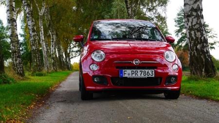 Fiat 500 S in Rot, Foto: Autogefühl