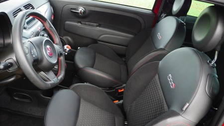 Fiat 500 S Innenraum, Foto: Autogefühl